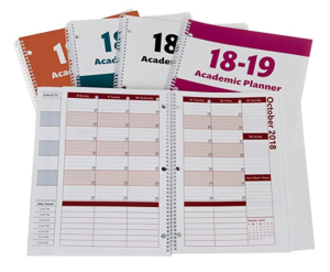 2018 2019 academic planner a tool for time management best weekly